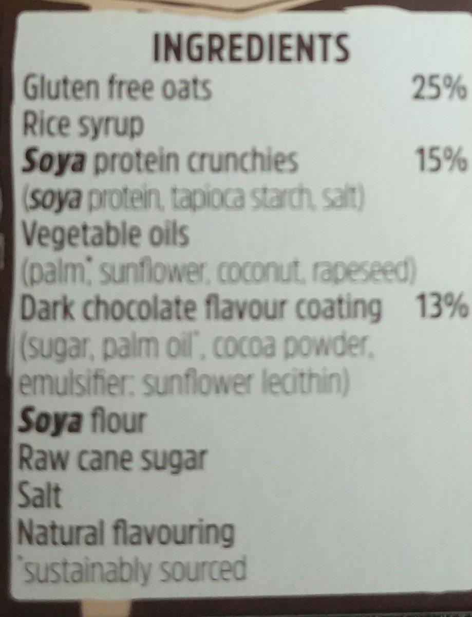 Cocoa oat - Ingredientes