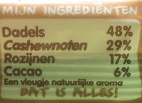 Cocoa delight - Ingrediënten - nl