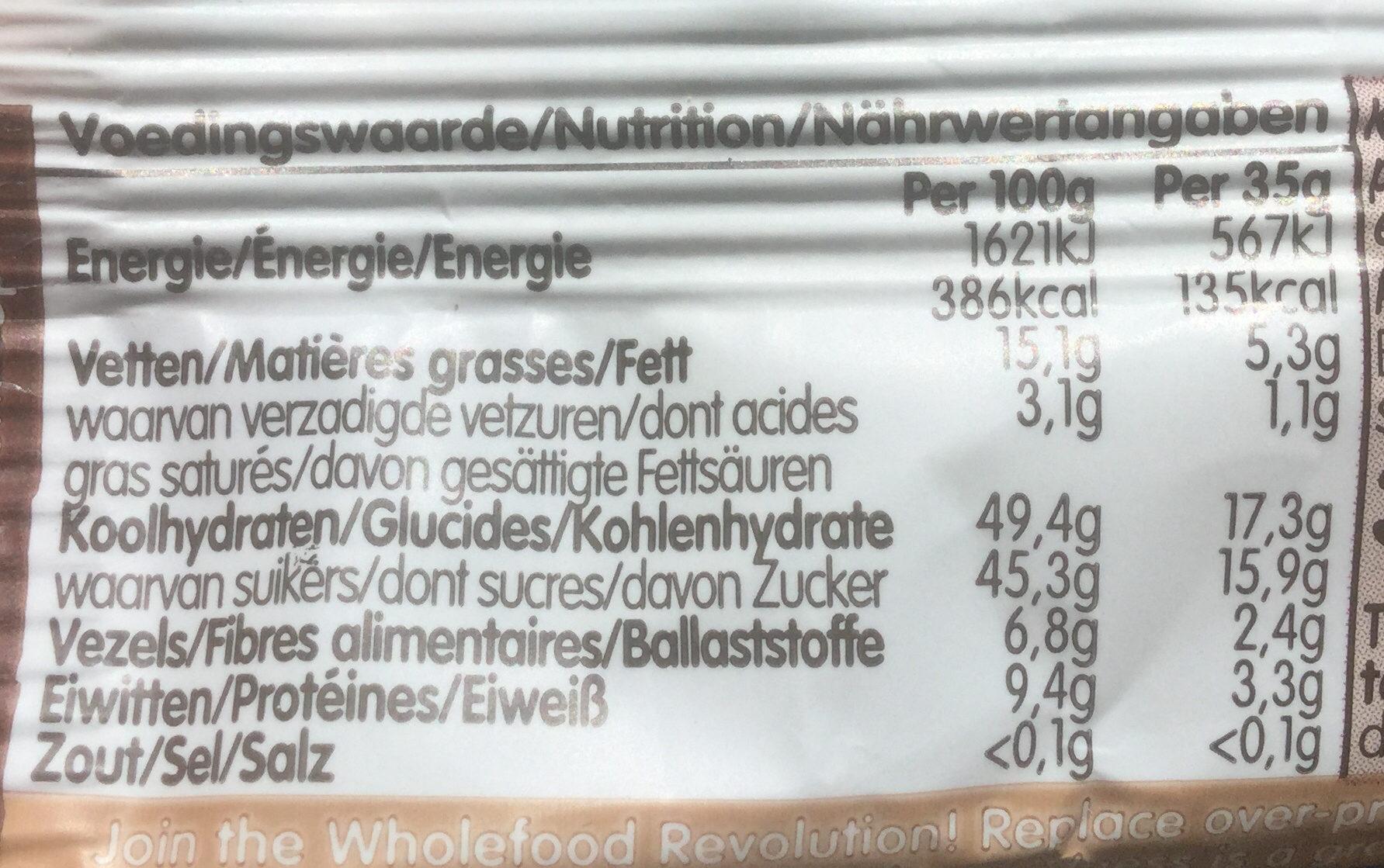 Cocoa delight - Voedingswaarden - fr
