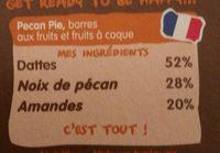 Pecan pie - Ingredients - en