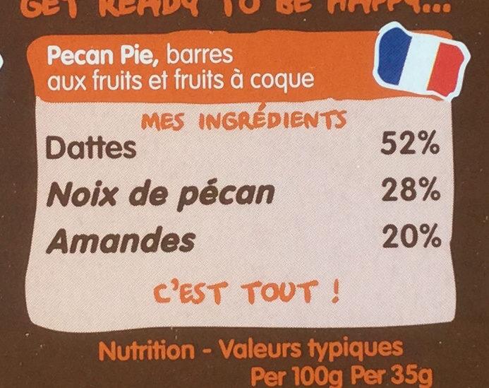Pecan pie - Ingrédients