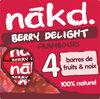 NAKD Framboise - Berry Delight - Prodotto