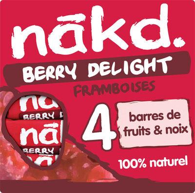 NAKD Framboise - Berry Delight - Produit - fr
