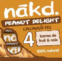 NAKD Cacahuète - Peanut Delight 4x35g - Produit - fr
