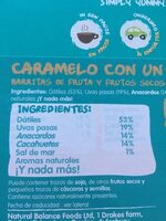 Naked Salted Caramel - Ingrediënten - nl