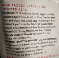 High Protein Granola - Ingrédients