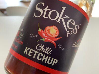 Stokes Spicy Tomato Ketchup Gluten Free 300G - Produit