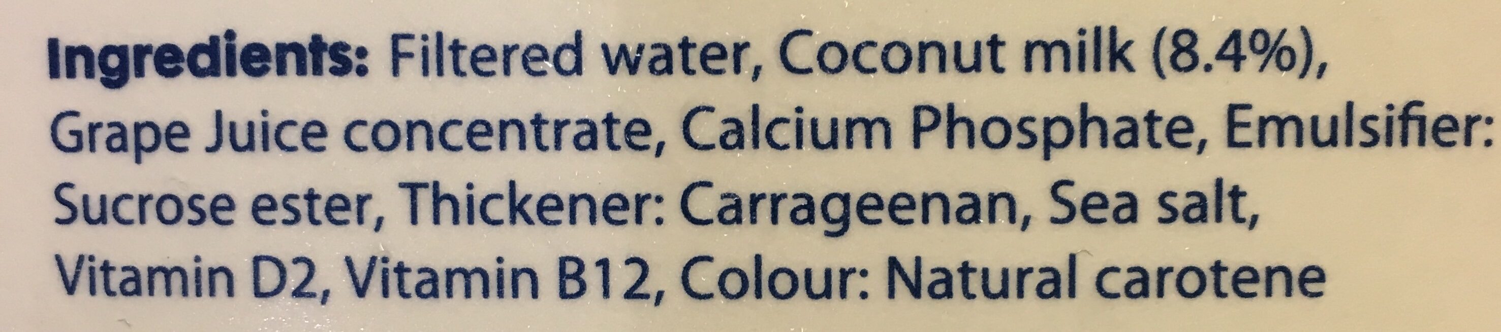 Original - Ingredients - en