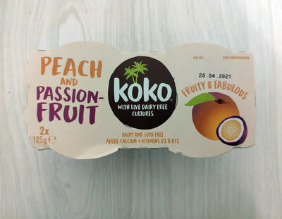 Peach and Passion Fruit - Product - en