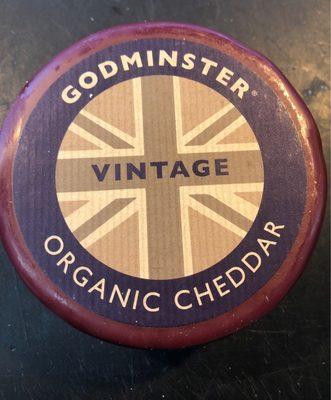 Godminster Vintage Organic Cheddar Truckle - Produit - fr