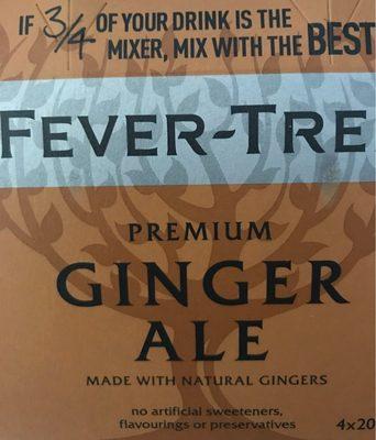 Premium Ginger Ale - Product