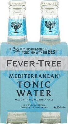 Mediterranean Tonic Water 4 x - Product - fr