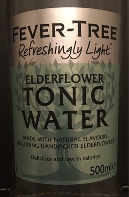 Tonic Water Elderflower - Produit - fr