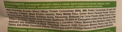 Diet whey - Ingrédients