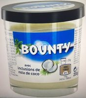 Bounty Chocolate Spread With Coconut Flakes - Product