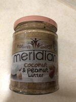 Meridian Coconut & Peanut Butter - Product