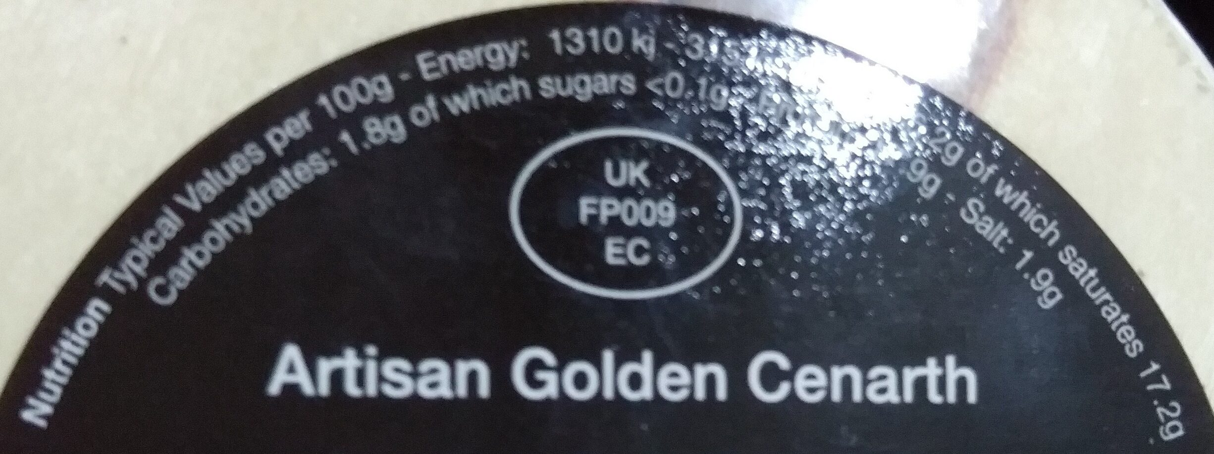 Golden Cenarth - Nutrition facts - en