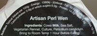 Artisan Perl Wen - Nutrition facts - en