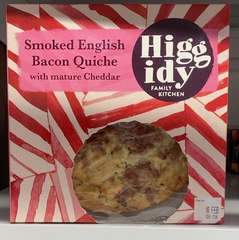 Smoked English Bacon Quiche - Product - en