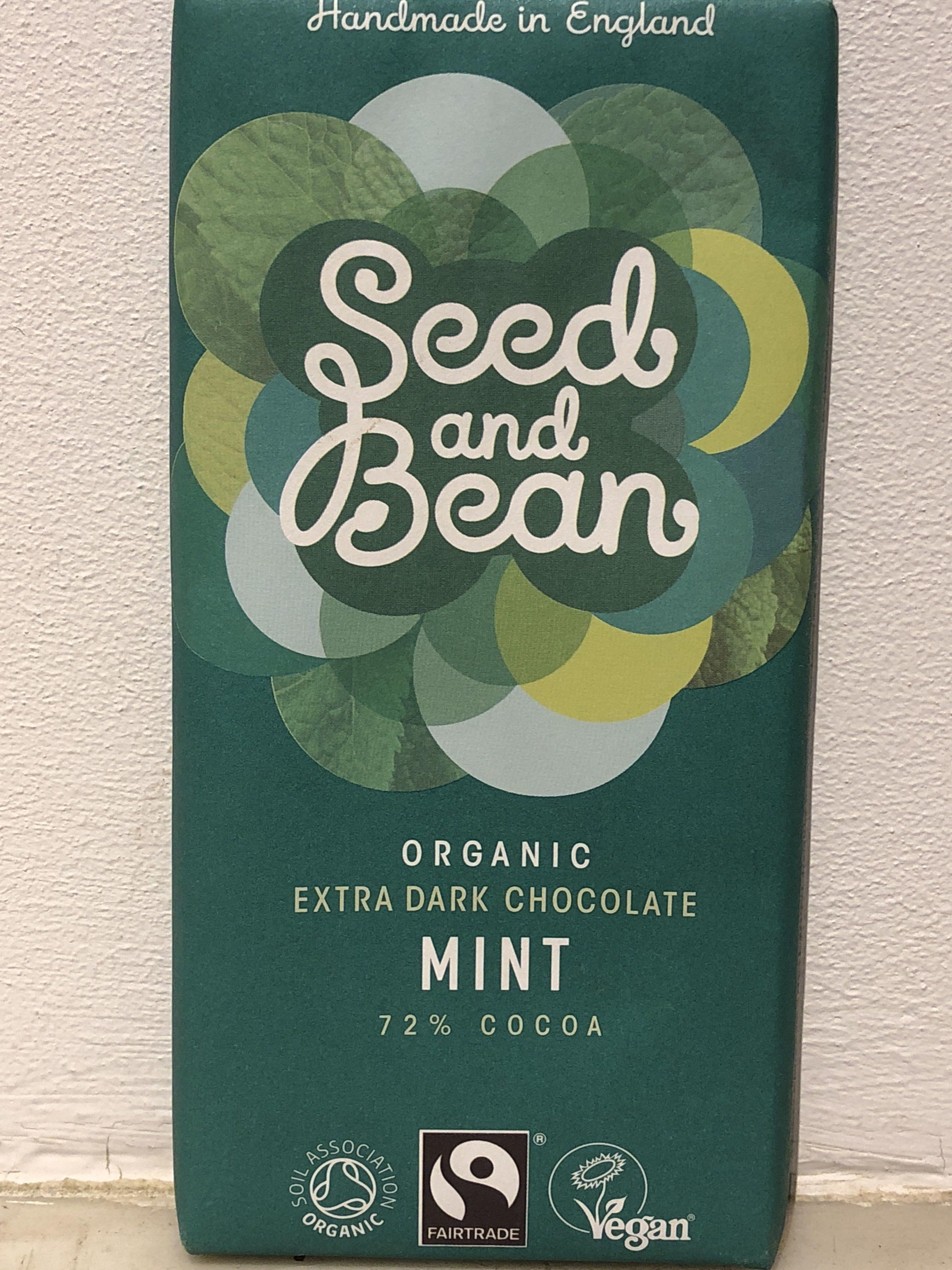 Chocolate negro con menta ecológico producto vegano - Product - en
