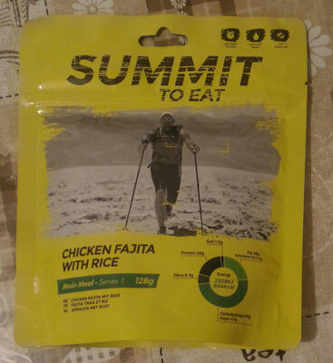 Chicken fajita with rice - Product