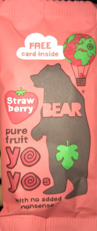 Yoyo fraise - Produit
