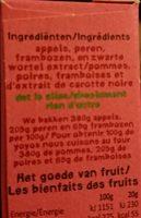 Yoyo Framboise - Ingrediënten