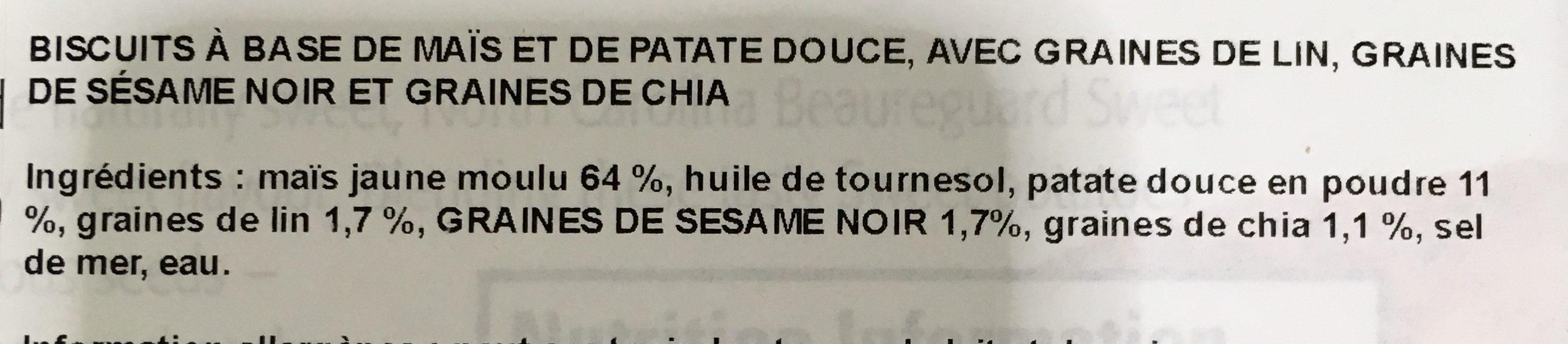 Sweet Potato - Ingrédients - fr