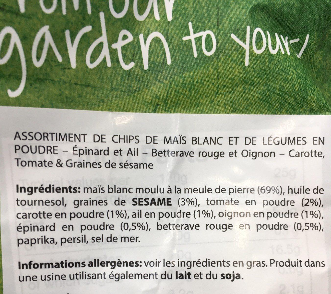Veggie Mix - Ingrediënten - fr