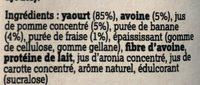 YoG-oaT - Ingrédients - fr