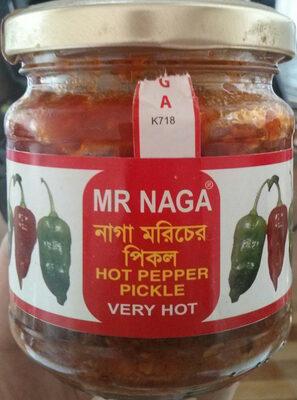 Mr Naga Hot Pepper Pickle - Product - en