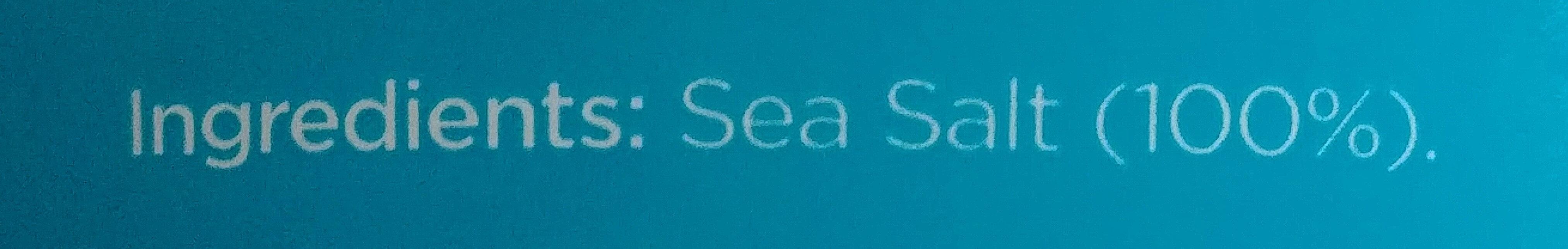 Sea Salt Crystals - Ingrediënten - en