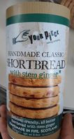 Handmade Classic Shortbread with Stem Ginger - Product
