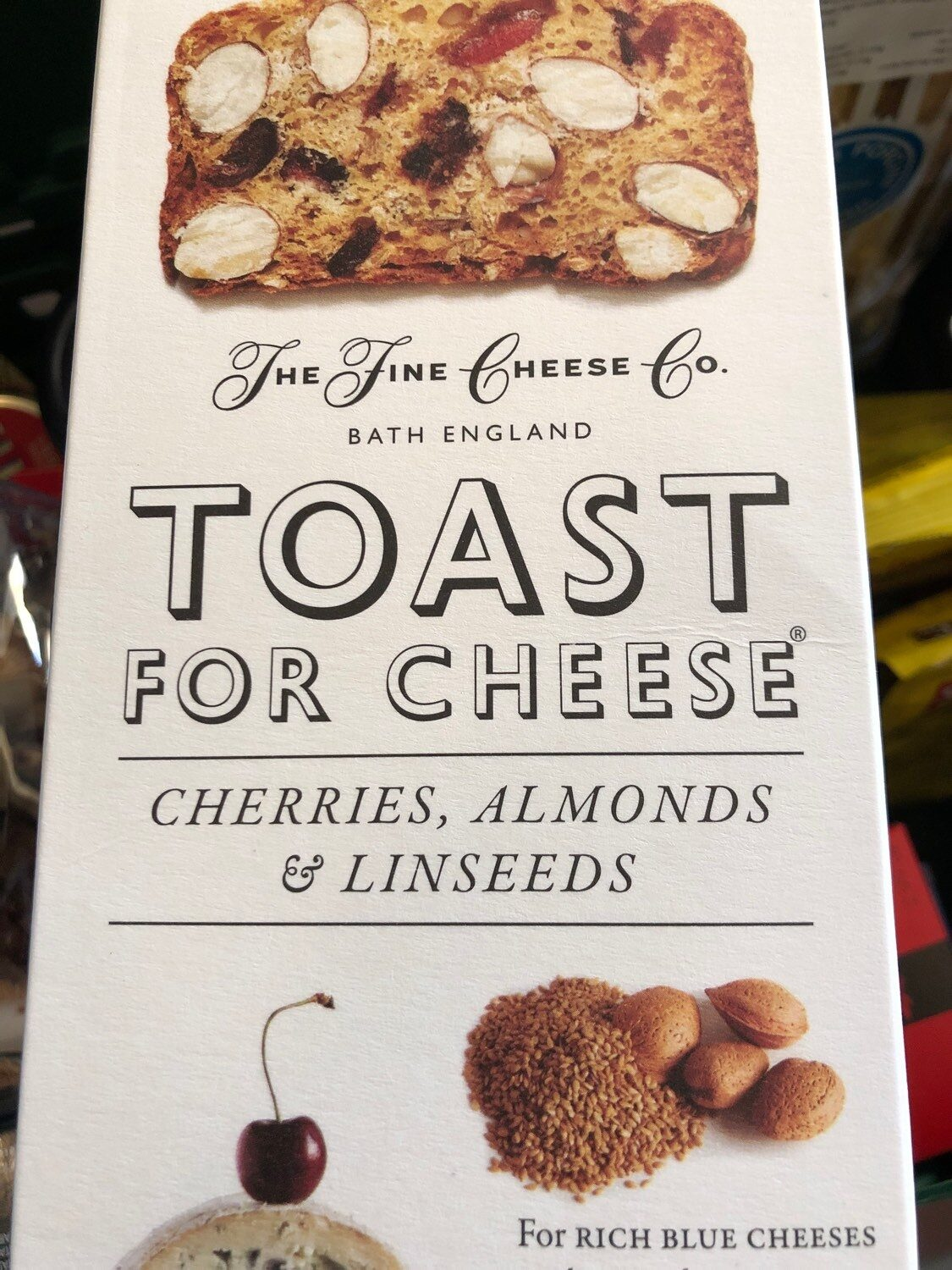 Cherry Almond Toast For Cheese - Product