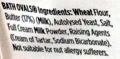 Bath ovals - Ingredients - en