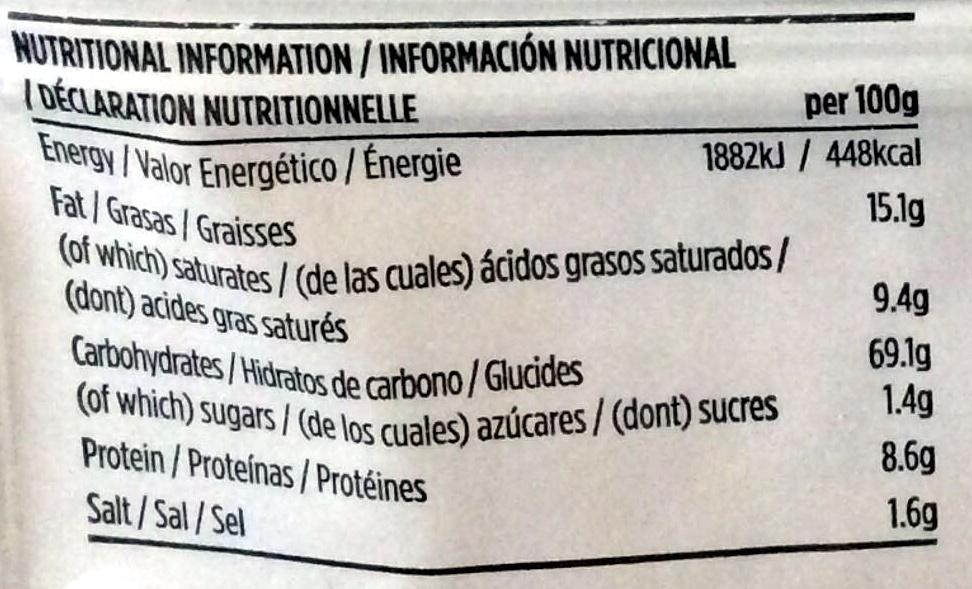 Bath ovals - Nutrition facts - en
