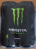 Monster Energy - 4 Pack - Produit - sv