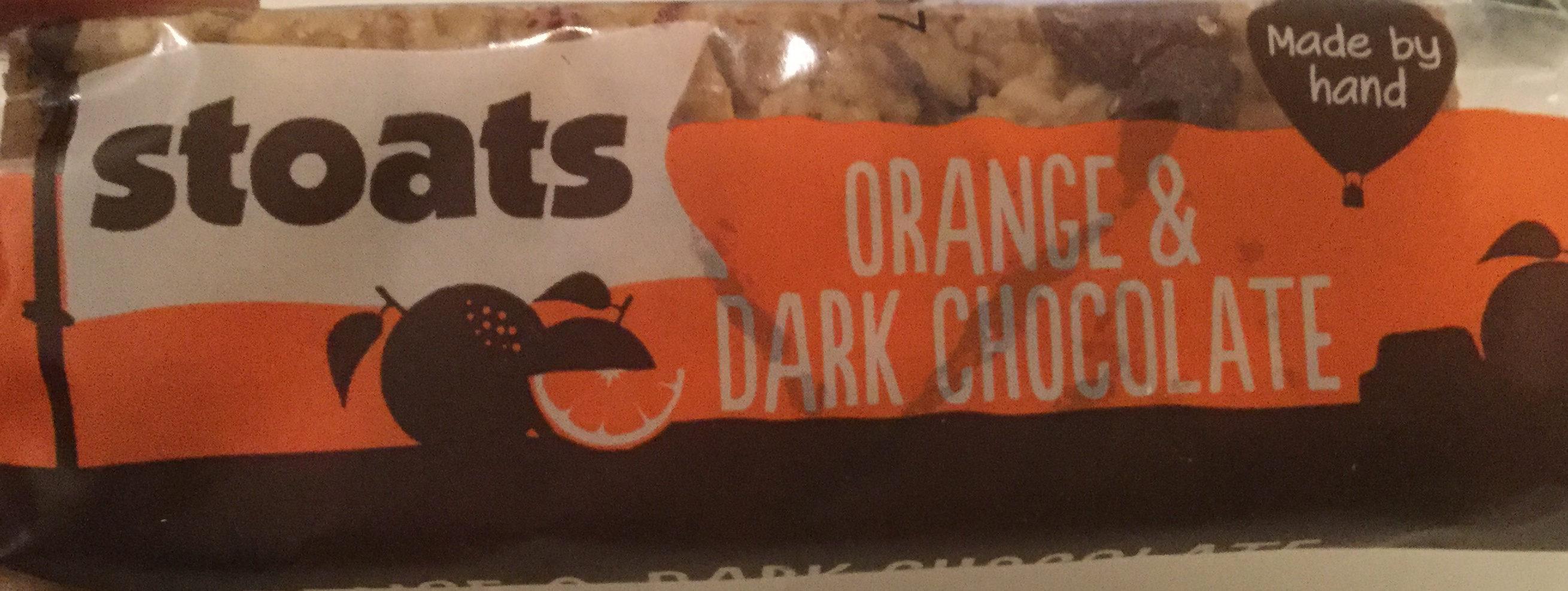 Porridge Oat Bar orange & dark chocolate - Product