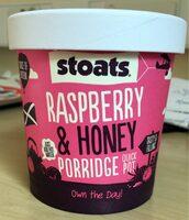 Raspberry & Honey Porridge Pot - Product