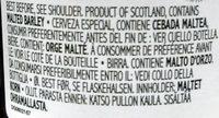Gunnpowder IPA - Ingredients - fr