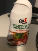 Go Squeezy strawberry & watermelon - Product - fr