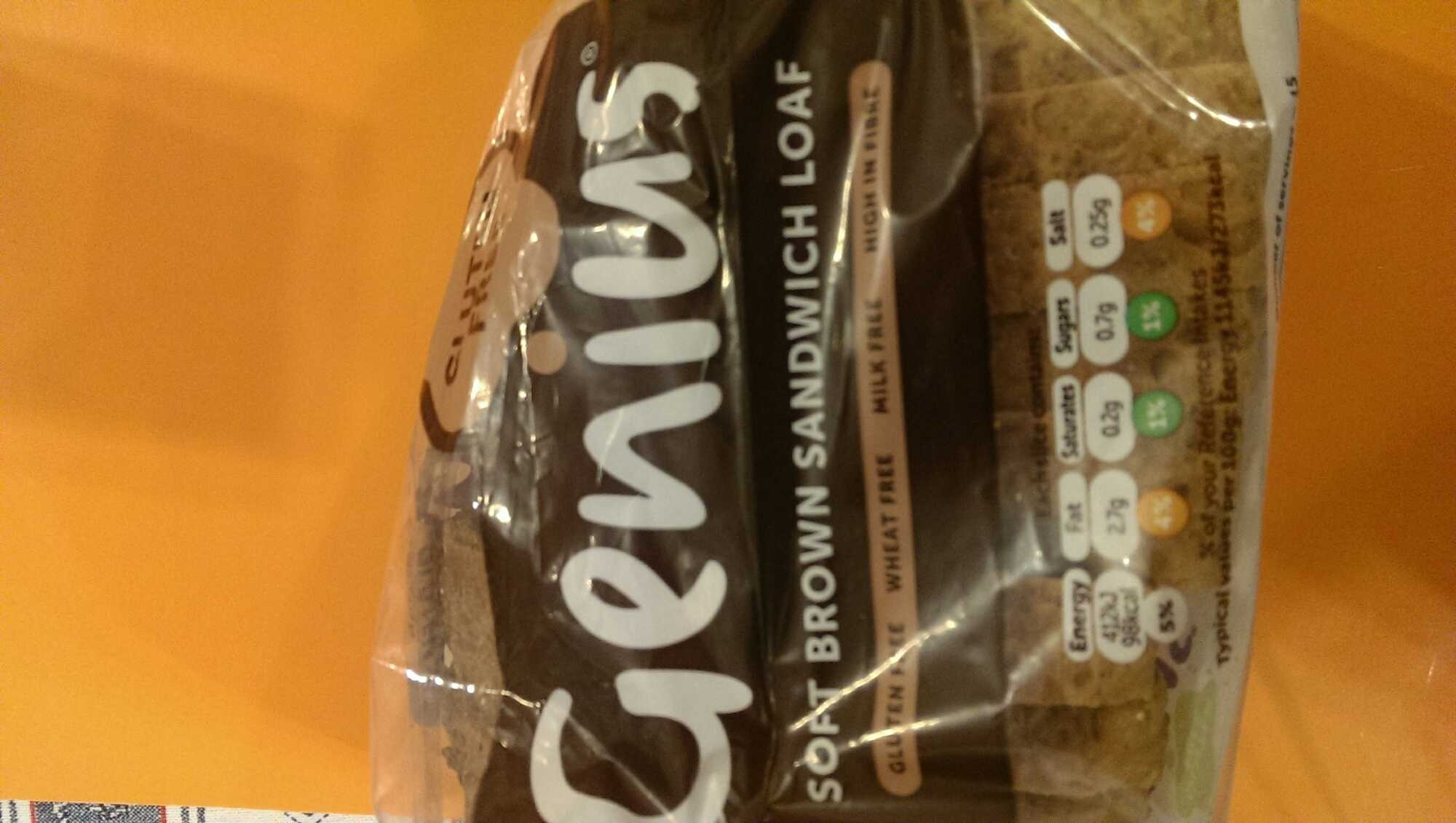 Soft brown sandwich loaf - Product