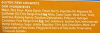 Genius Gluten Free 4 Crumpets - Ingrédients - fr