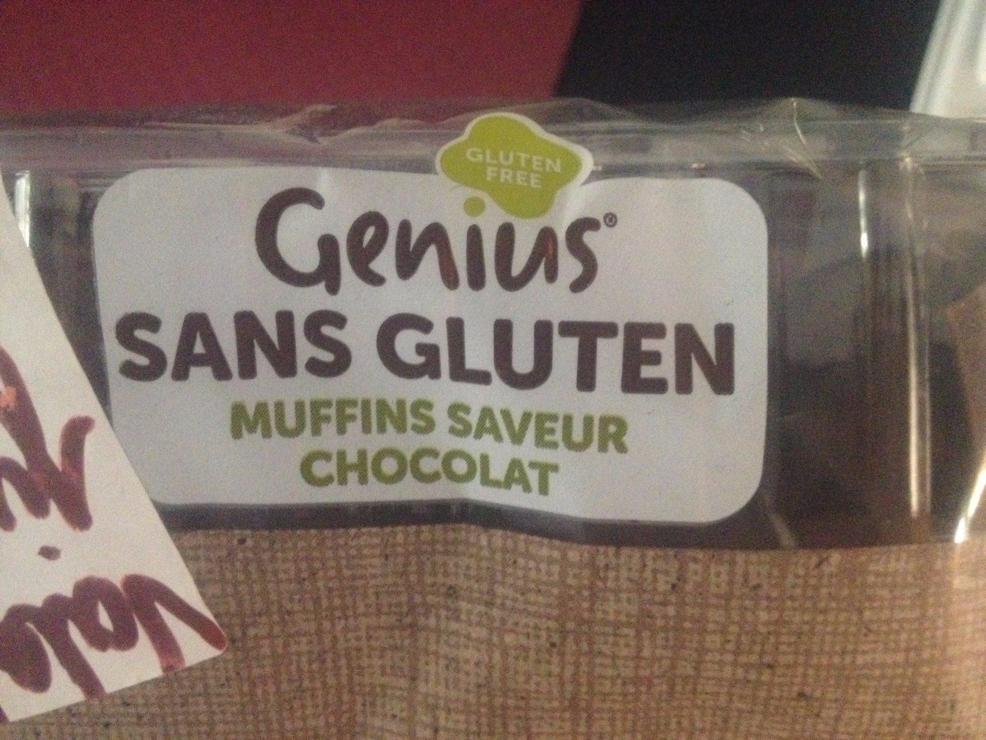 GENIUS SANS GLUTEN MUFFINS saveur chocolat - Ingrédients - fr