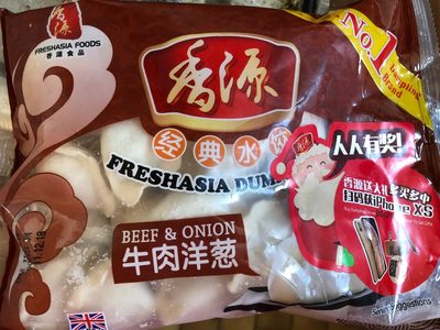 Fresh Asia Handmade Beef Onion Dumplings - Produit - fr