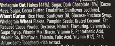 Fuel 70% Cocoa Chunks 400G - Ingredienti - en