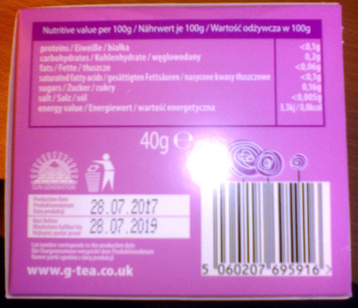 G tea - Product