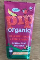 Straberry,banana&purple carrot smoothie - Product - fr
