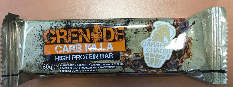 Carb Killa High Protein Bar Caramel Chaos - Produit - fr