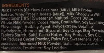 Carb Killa Fudge Brownie - Ingredients - en